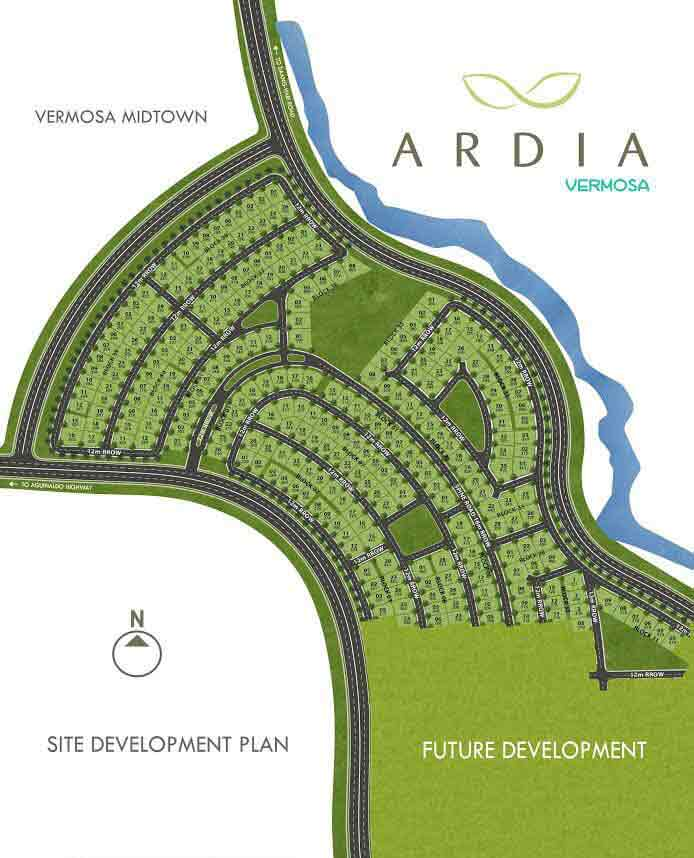 Ardia At Vermosa - Site Development Plan