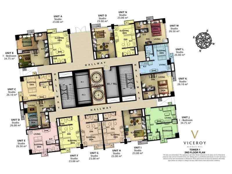 The Viceroy -  Floor Plan