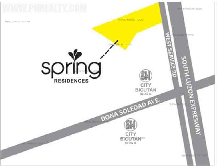 Spring Residences  - Location