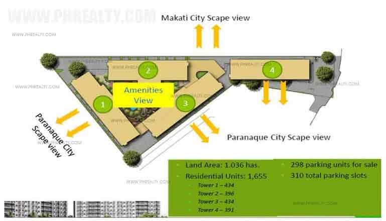 Spring Residences  - Site Development Plan