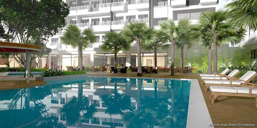 Spring Residences  - Lounge Pool