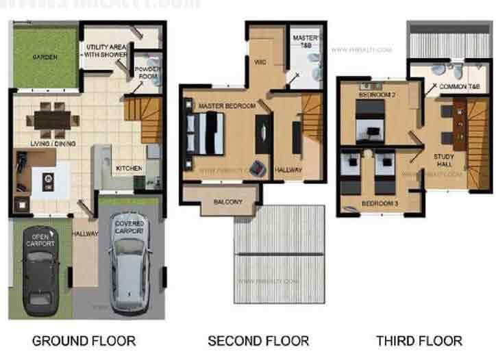 Ametta Place  - Floor Plan