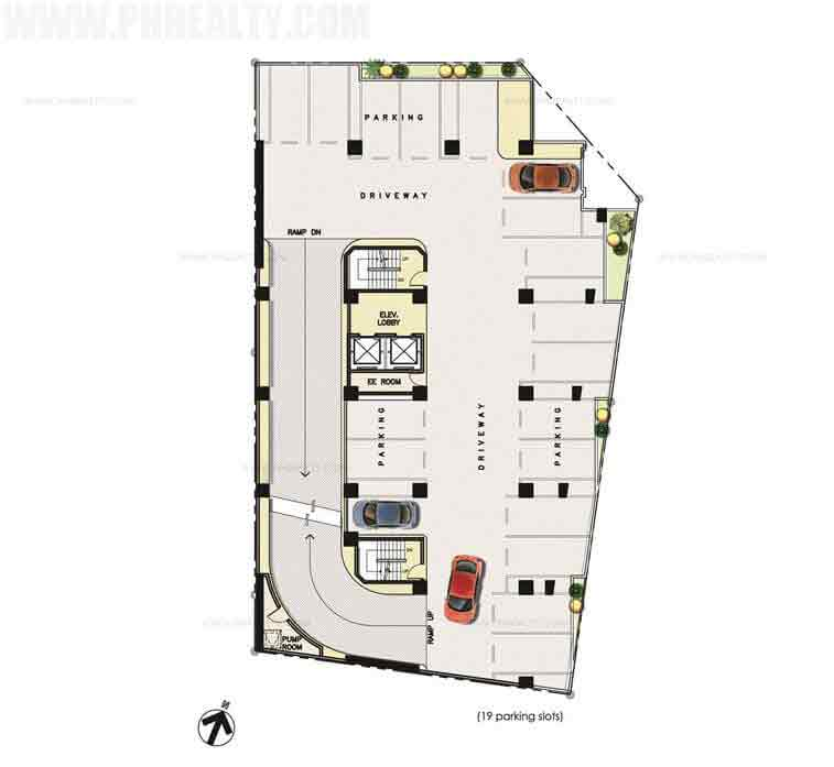 Sentrale Residences - Parking Floor Plan