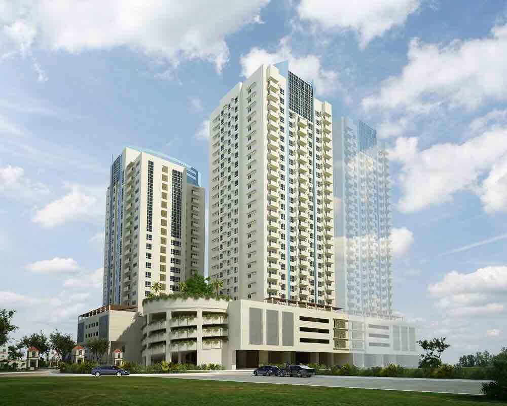 Celadon Park -  Building Perspective