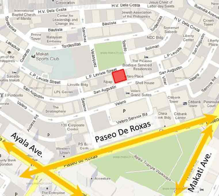 Escala Salcedo  - Location Map
