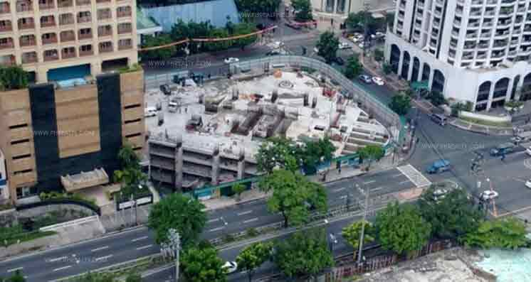 Shang Salcedo Place - Actual Construction