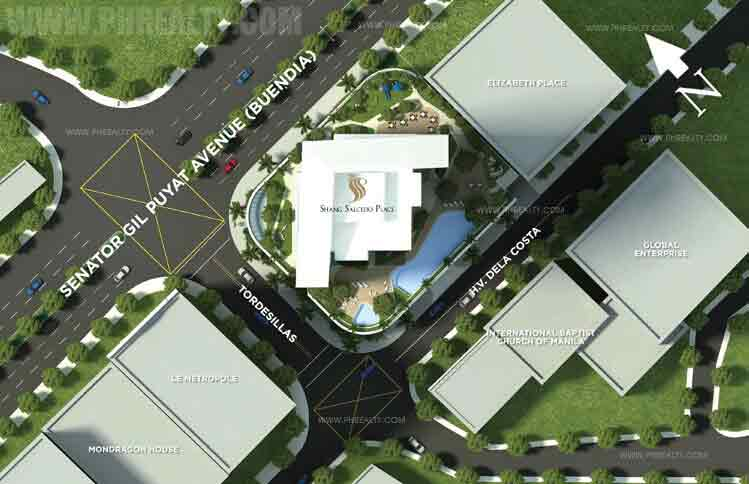 Shang Salcedo Place - Site Development Plan