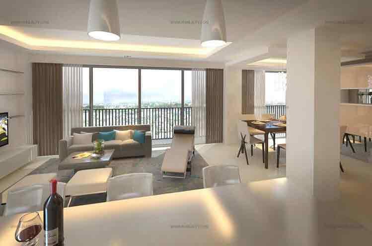 St. Moritz Private Estate - Living Area