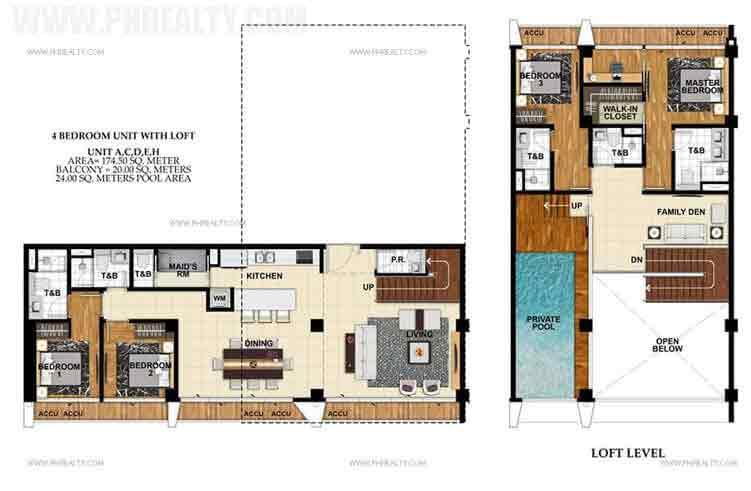 St. Moritz Private Estate - Unit A,C,D,E,H 4 Bedroom