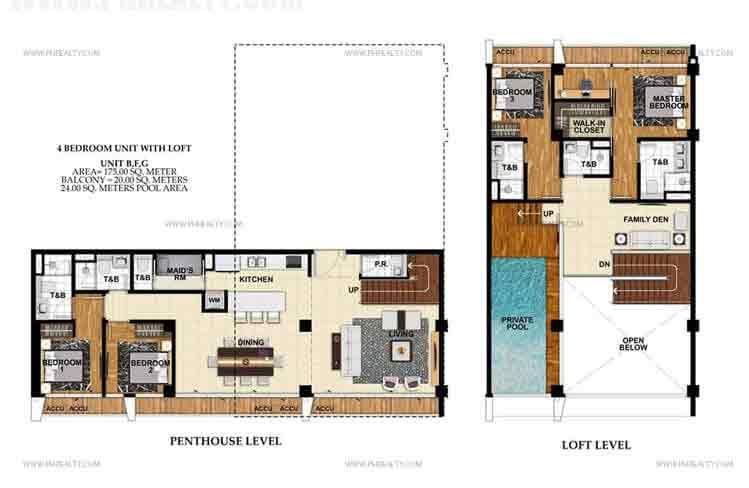 St. Moritz Private Estate - Unit B,F,G 4 Bedroom