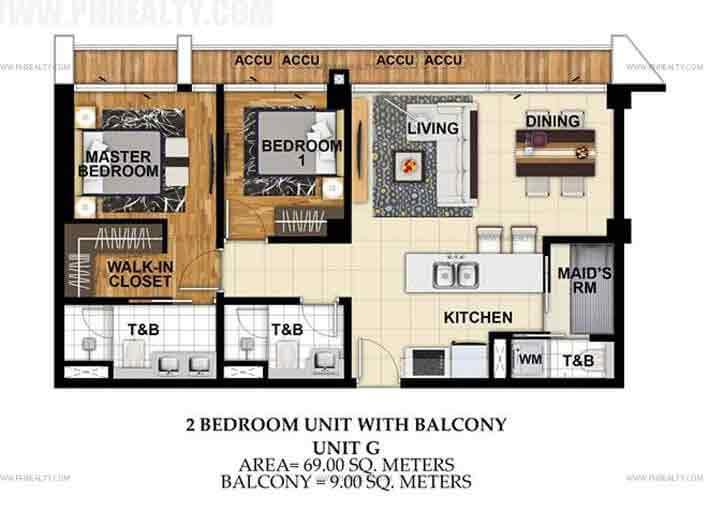 St. Moritz Private Estate - Unit G 2 Bedroom