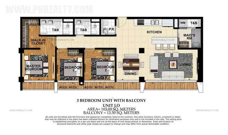 St. Moritz Private Estate - Unit J,O 3 Bedroom Unit With Balcony