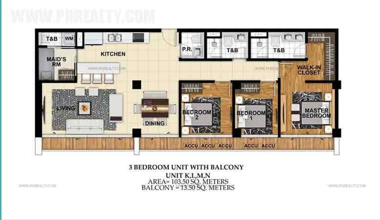 St. Moritz Private Estate - Unit K,L,M,N 3 Bedroom