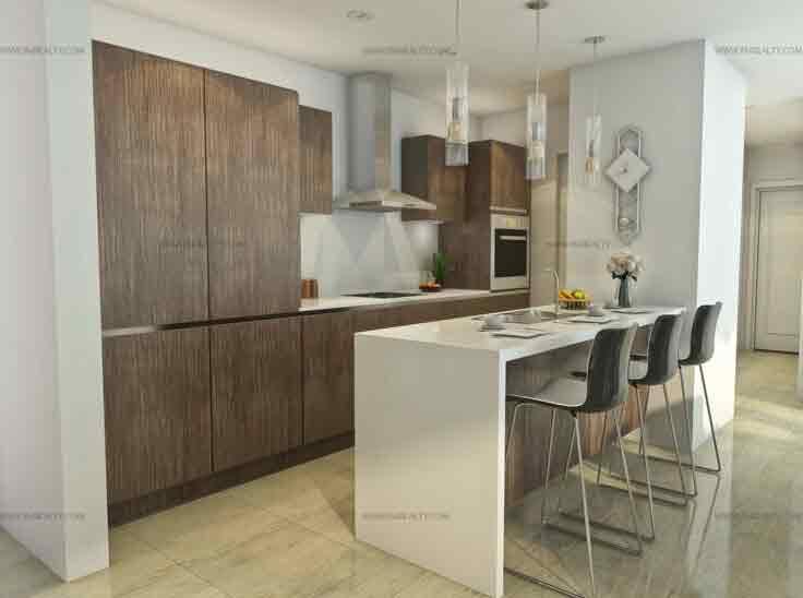 St. Moritz Private Estate - Kitchen