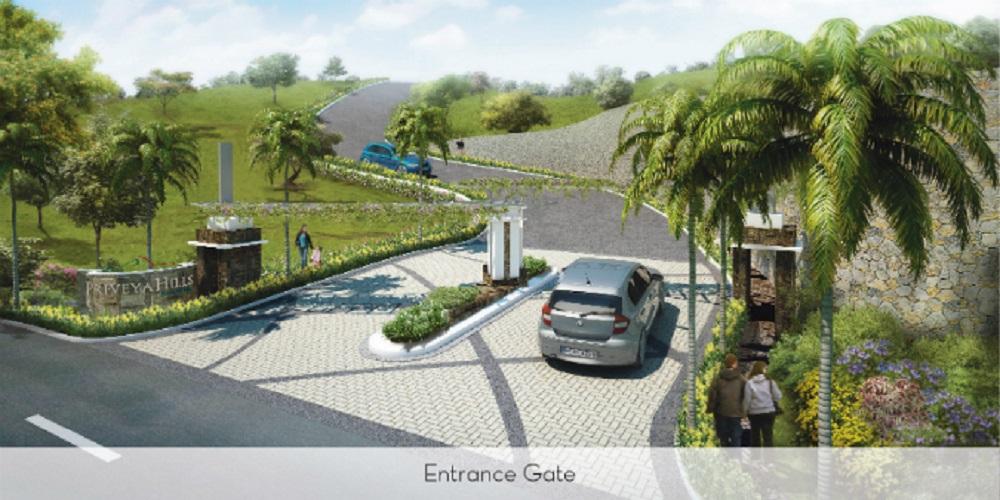 Priveya Hills - Entrance Gate