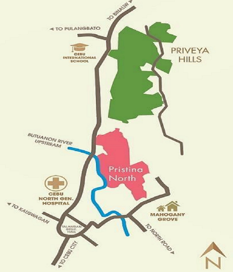 Priveya Hills - Location