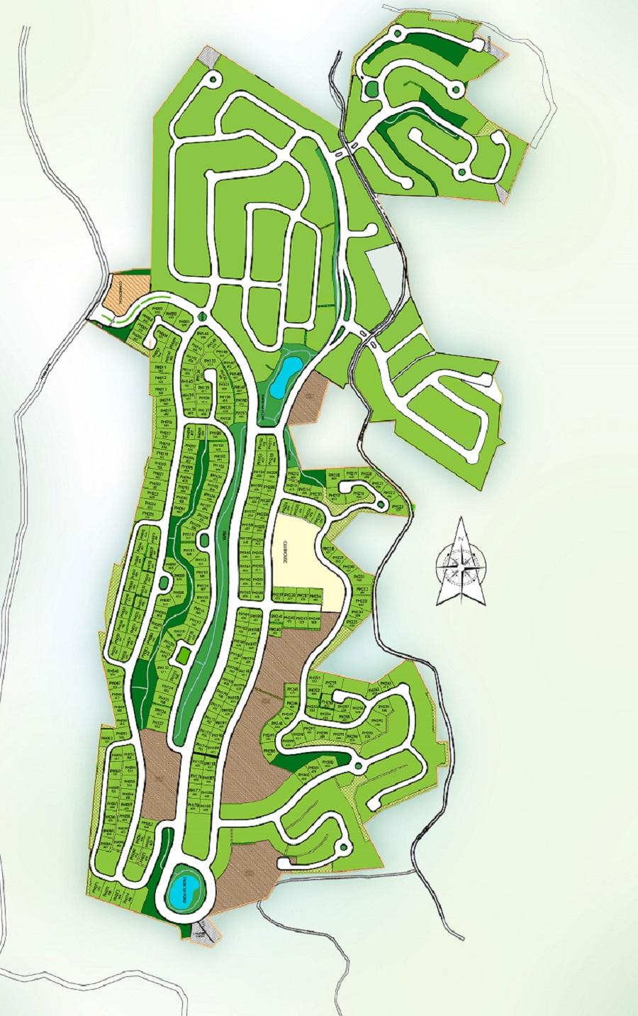 Priveya Hills - Site Development Plan