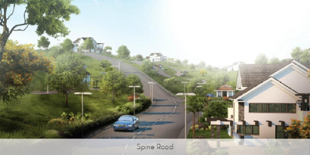 Priveya Hills - Spine Road