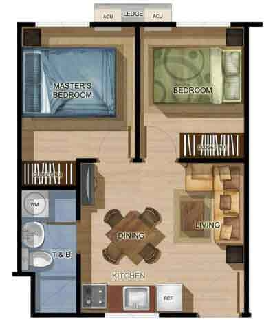 8 Spatial Davao Filinvest - 2 BR Unit