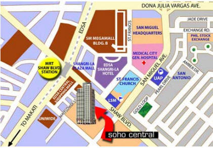 Soho Central - Location