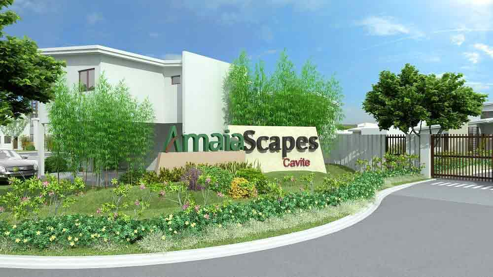 Amaia Scapes Cavite - Entrance Gate