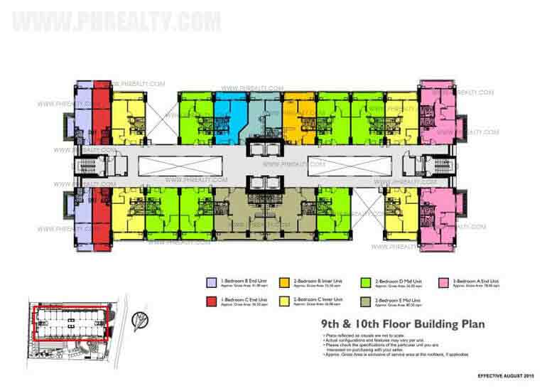 Fairway Terraces - 14th Floor Building Plan