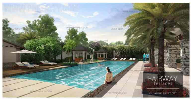 Fairway Terraces - Lap Pool