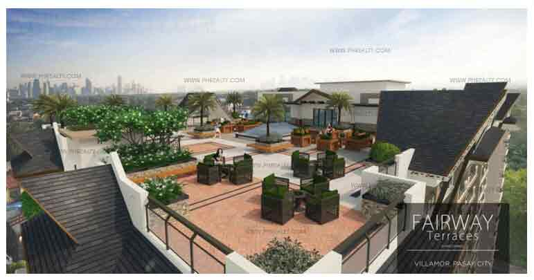 Fairway Terraces - Roofdeck