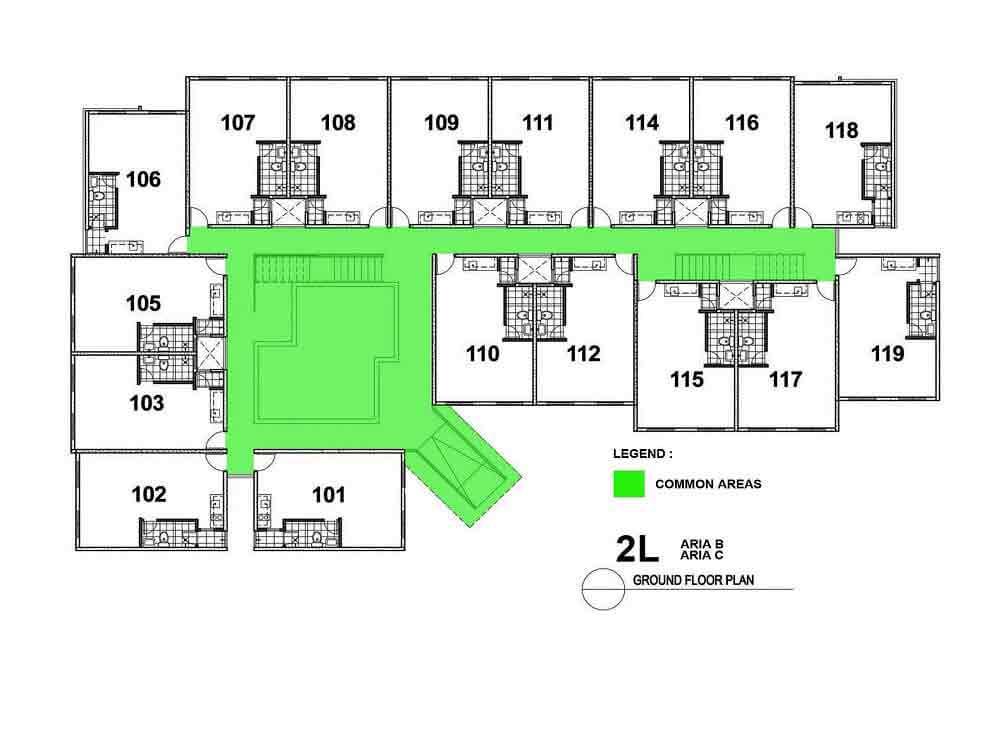 Amaia Steps Novaliches - Floor Plan
