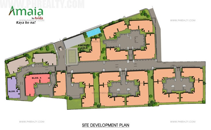 Amaia Steps Novaliches - Site Development Plan