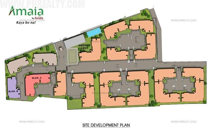 Amaia Steps Novaliches - Site Development Plan