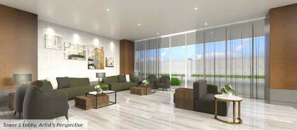 Green 2 Residences - Tower 1 - Lobby