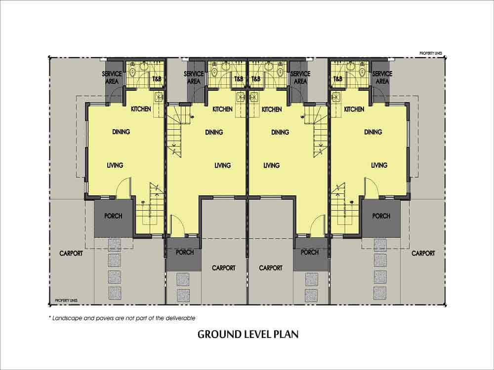 Amaia Series Novaliches - 6 Series- Ground Floor Plan