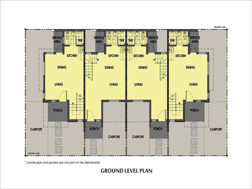 Amaia Series Novaliches - 6 Series- Ground Floor Plan