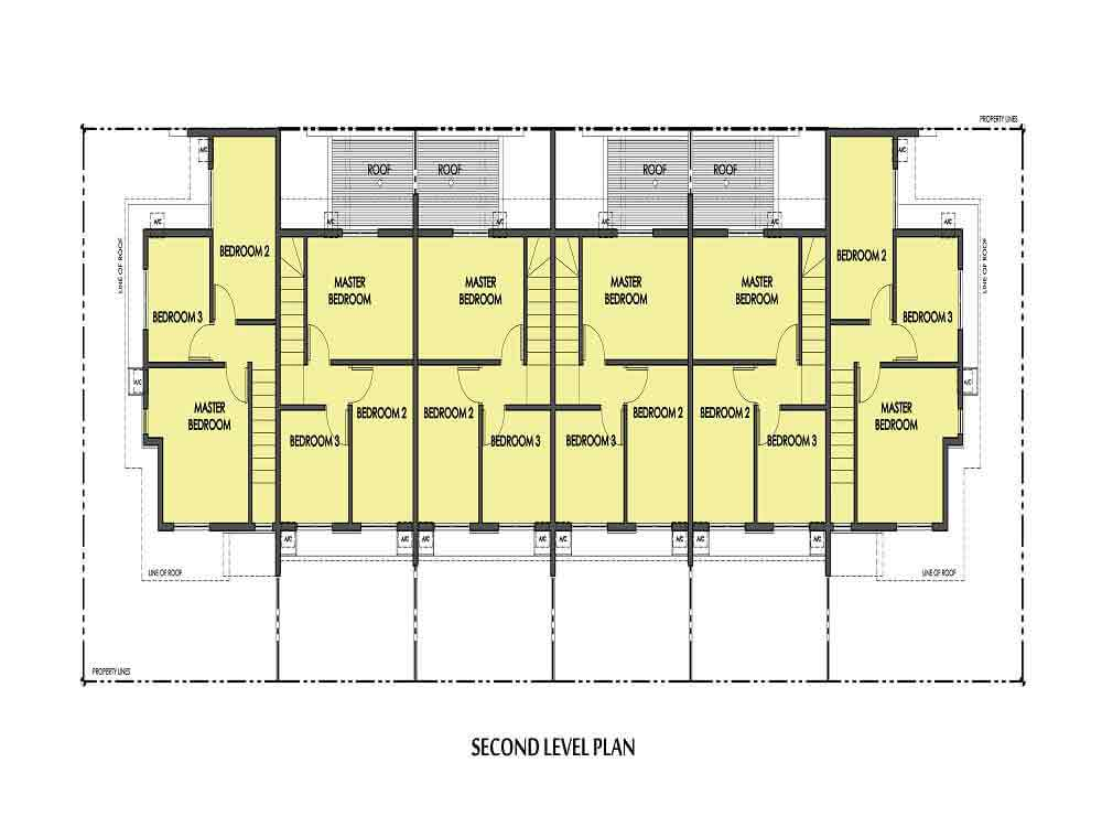 Amaia Series Novaliches - 6-Series 2nd Floor Plan