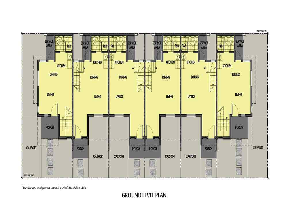 Amaia Series Novaliches - 4 Series- Ground Floor Plan