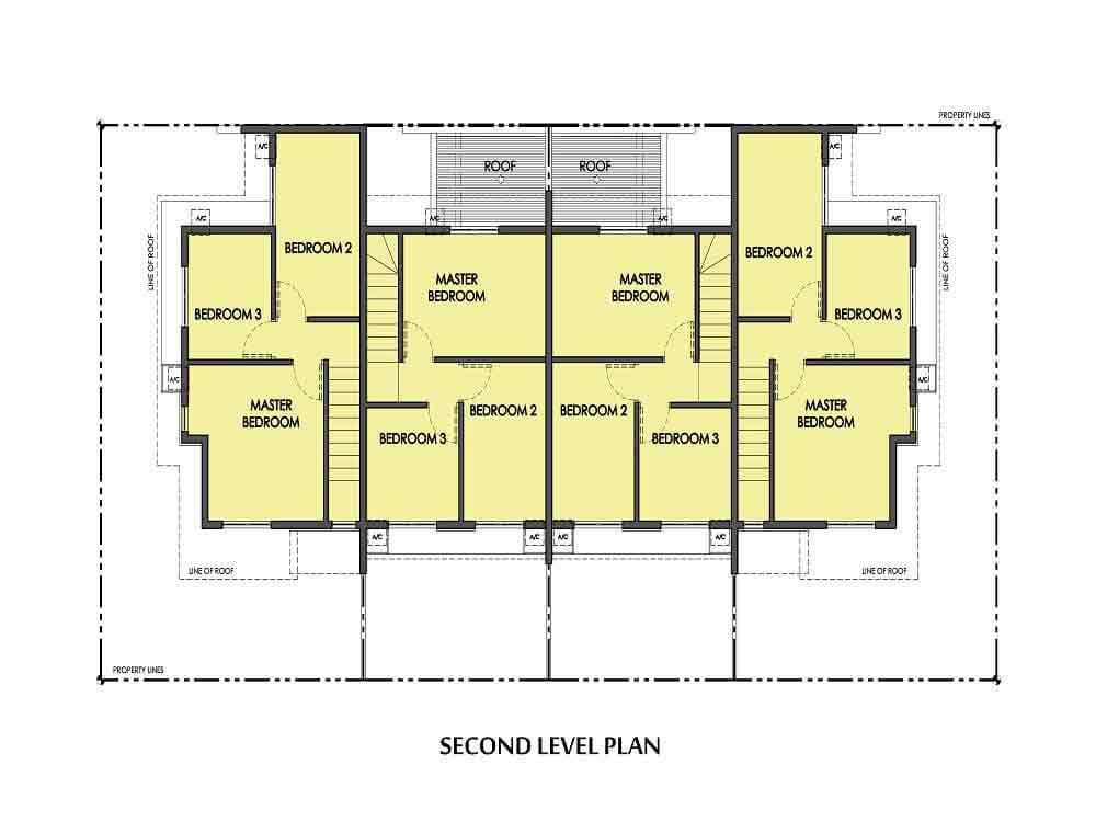 Amaia Series Novaliches - Floor Plan-QUAD 2nd Floor