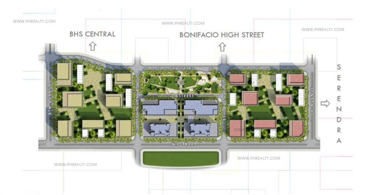 High Street South -  Site Development Plan