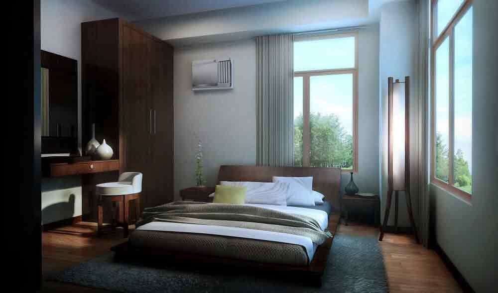 Kasa Luntian - 2BR Master's Bedroom