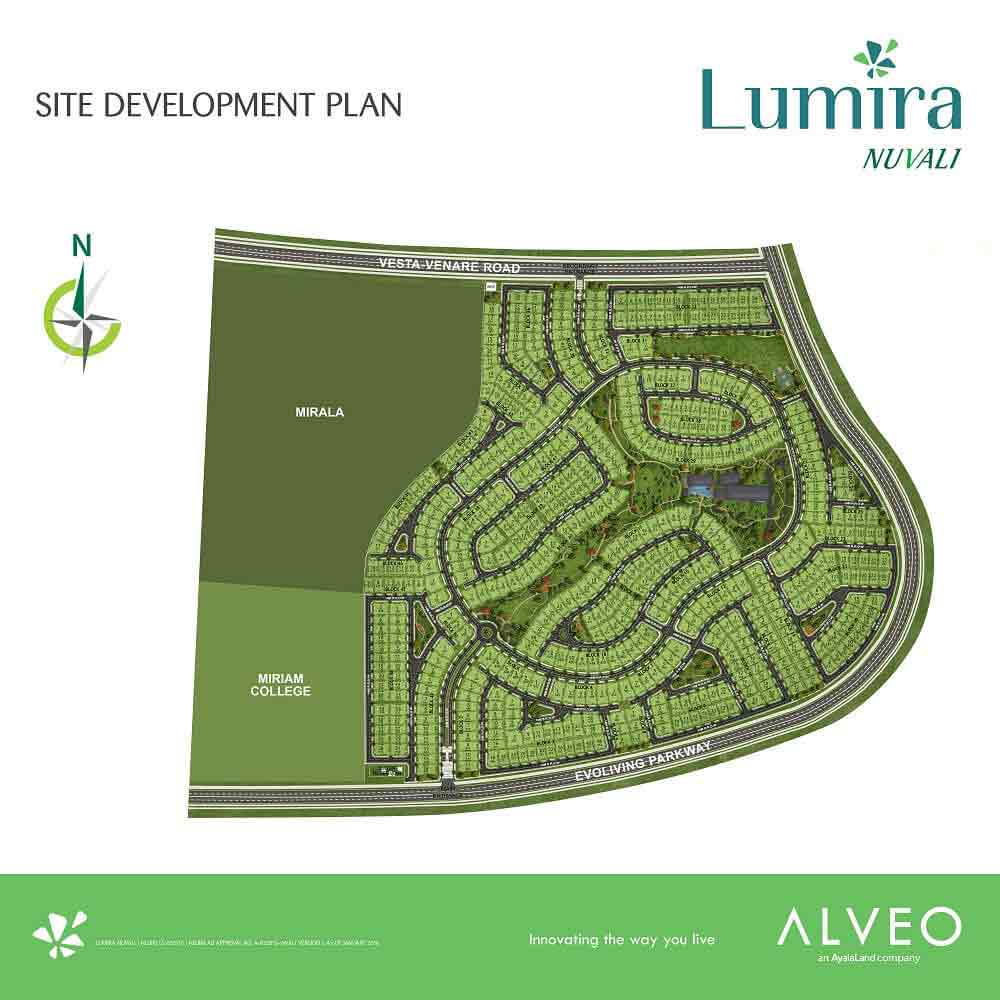 Lumira Nuvali  - Site Development Plan
