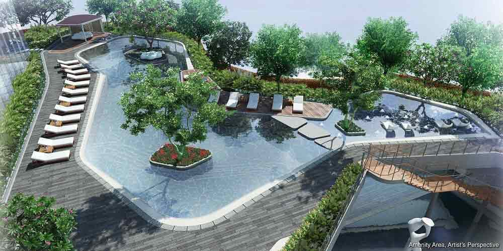 Air Residences -  Amenity Area