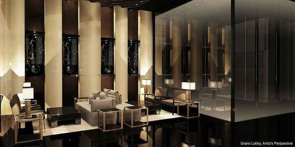 Air Residences - Grand Lobby