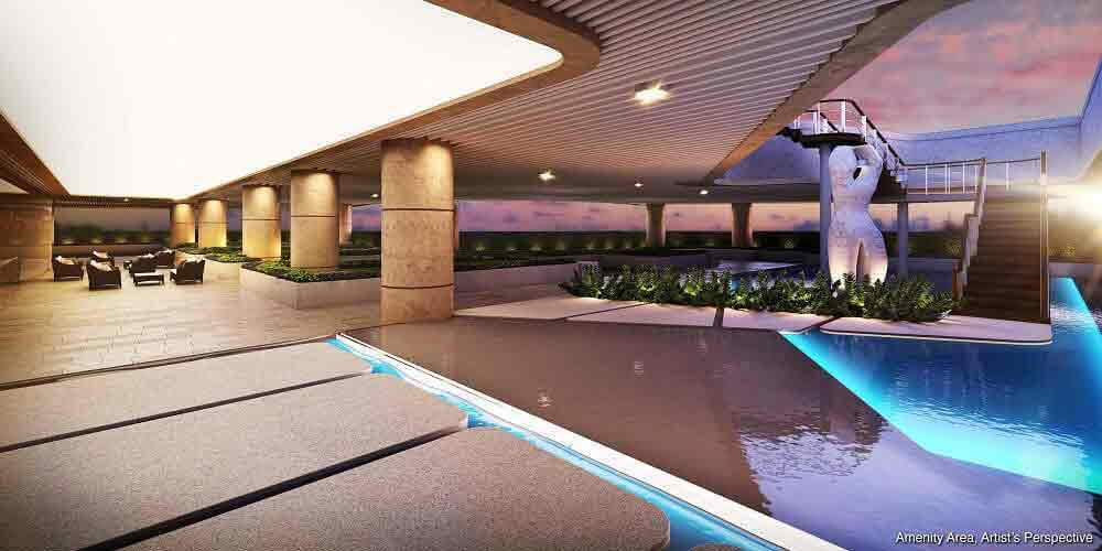 Air Residences - Lap Pool