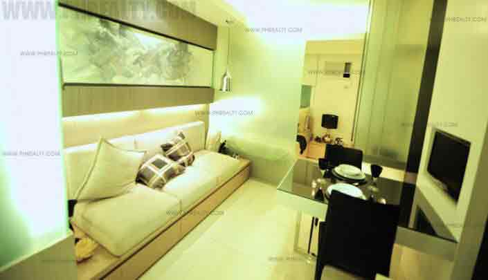 Mezza ll Residences - Living Room