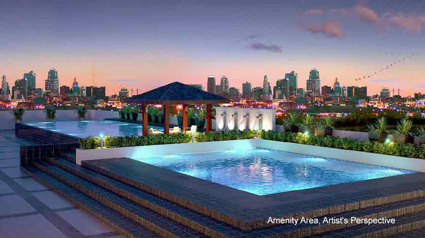 Mezza ll Residences - Swimming Pool