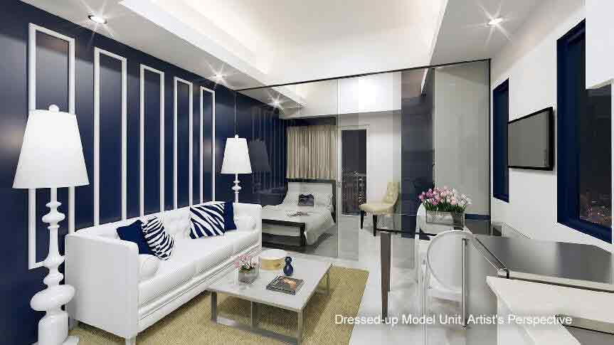 Mezza ll Residences - Dressed-up Model Unit