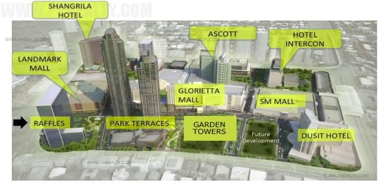 Raffles Residences - Building Plan