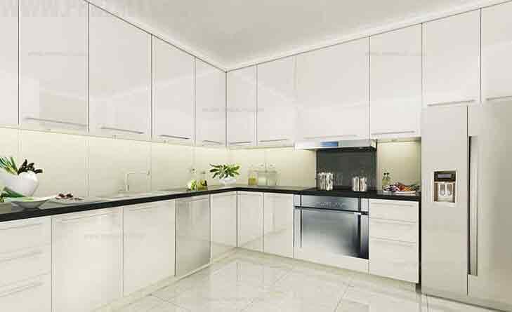 Raffles Residences - Kitchen