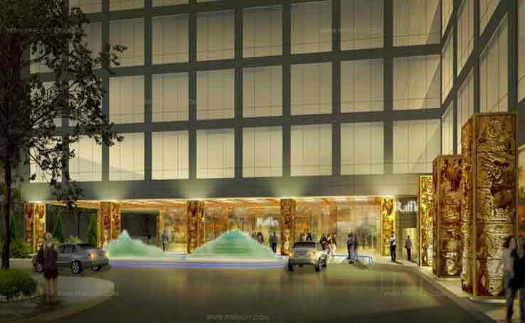 Raffles Residences - Lobby Lounge