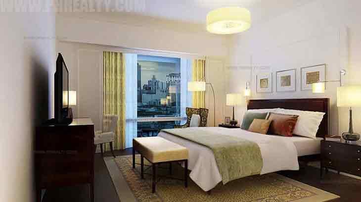 Raffles Residences - Master Bedroom